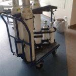 Gasflaschen-Transportwagen nach Vorgabe