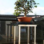 Beistelltisch für Aussenbereich mit Naturstein, Balkon