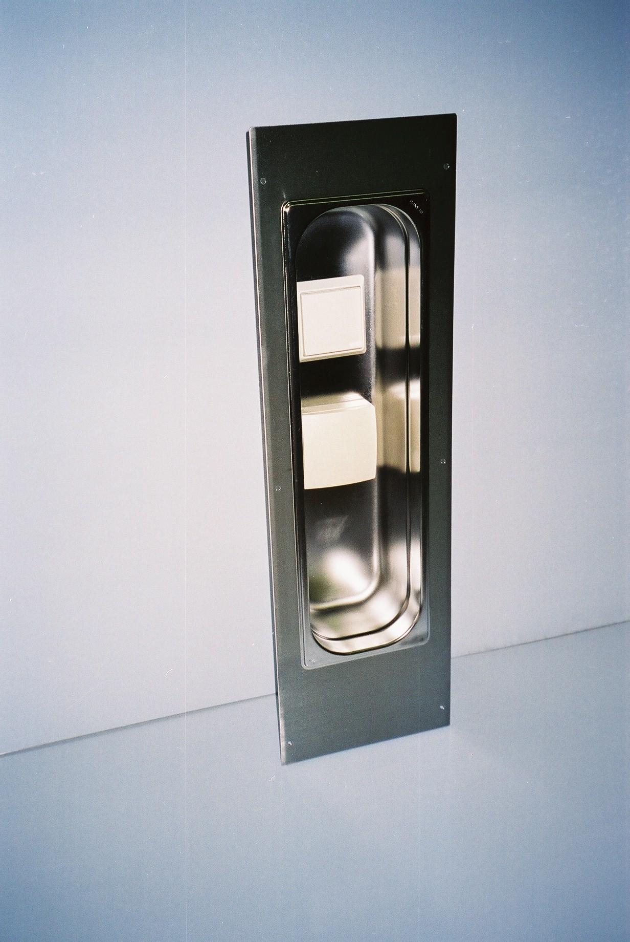 Edelstahl-Einlassdose für Schalter