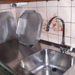 Küchenarbeitszeile mit Zubehör