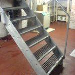 Kellertreppe aus Stahl verzinkt