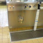 Einbau Kochkessel mit Verblendung