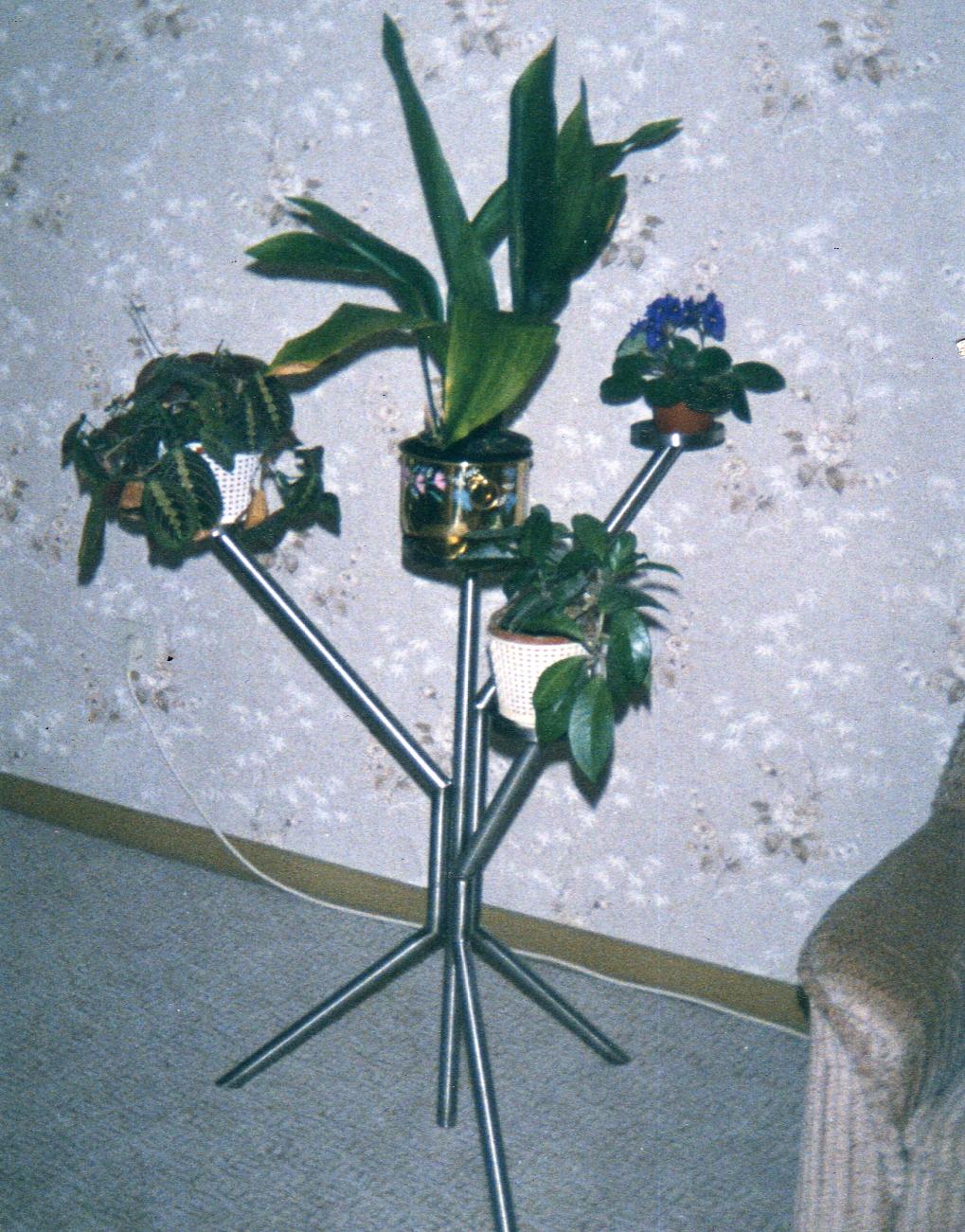 Blumenständer nach Vorgabe aus Edelstahl